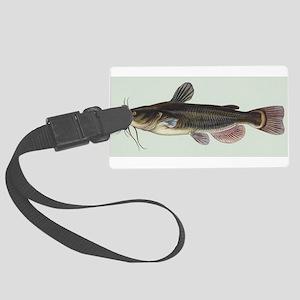 Catfish Luggage Tag