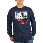 Fear the Wiener Long Sleeve Dark T-Shirt