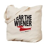 Fear the Wiener Tote Bag