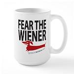 Fear the Wiener Large Mug