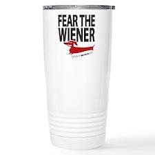 Fear the Wiener Stainless Steel Travel Mug