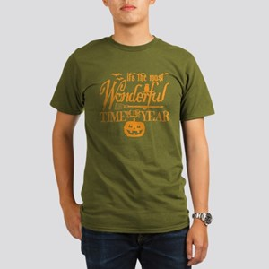 Most Wonderful (orange) Organic Men's (dk) T-Shirt