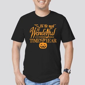 Most Wonderful (orange) Fitted Dark T-Shirt
