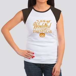 Most Wonderful (orange) Cap Sleeve T-Shirt