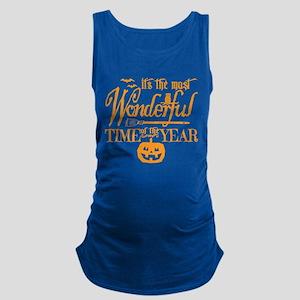 Most Wonderful (orange) Maternity Tank Top
