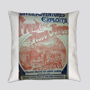 Jesse James Lives Everyday Pillow