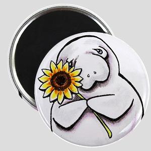 Sunny Manatee Magnets