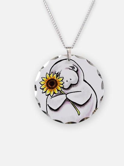 Sunny Manatee Necklace