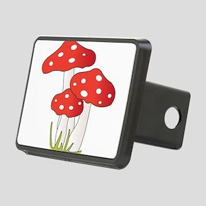 Polka Dot Mushrooms Hitch Cover