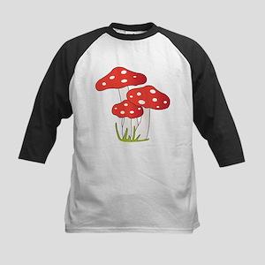 Polka Dot Mushrooms Baseball Jersey