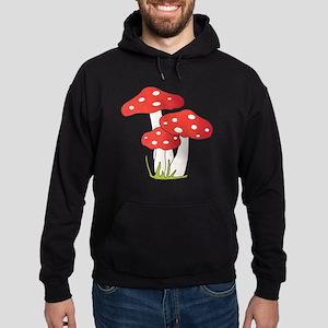 Polka Dot Mushrooms Hoodie