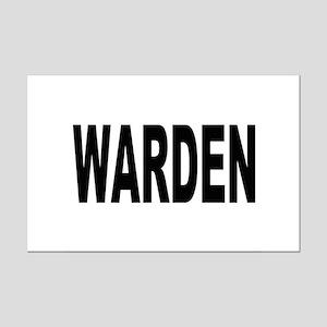 Warden Mini Poster Print