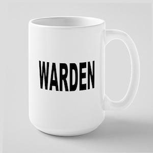 Warden Large Mug