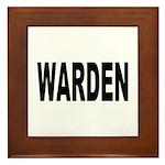 Warden Framed Tile