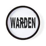 Warden Wall Clock