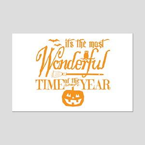 Most Wonderful (orange) Mini Poster Print