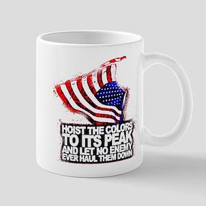Raise the American Flag Mugs
