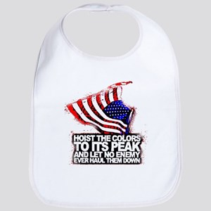 Raise the American Flag Bib
