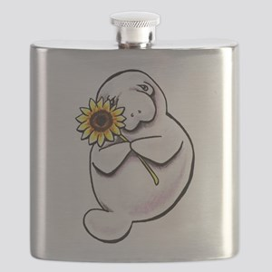 Sunny Manatee Flask