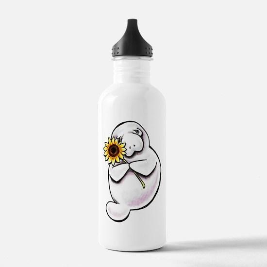 Sunny Manatee Water Bottle