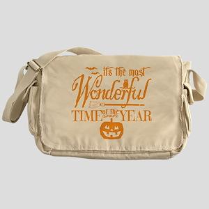 Most Wonderful (orange) Messenger Bag