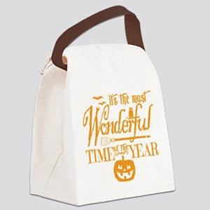 Most Wonderful (orange) Canvas Lunch Bag