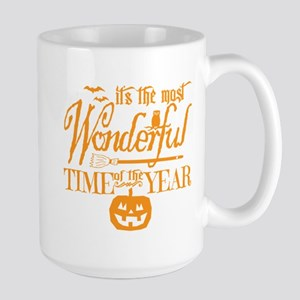 Most Wonderful (orange) Large Mug