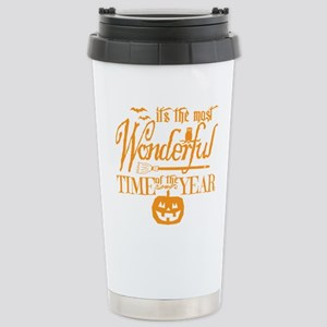 Most Wonderful (orange) Stainless Steel Travel Mug