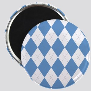 UNC Carolina Blue Argle Basketball Magnets