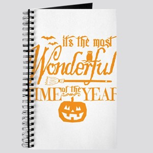 Most Wonderful (orange) Journal
