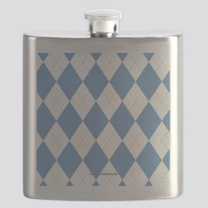 UNC Carolina Blue Argle Basketball Flask