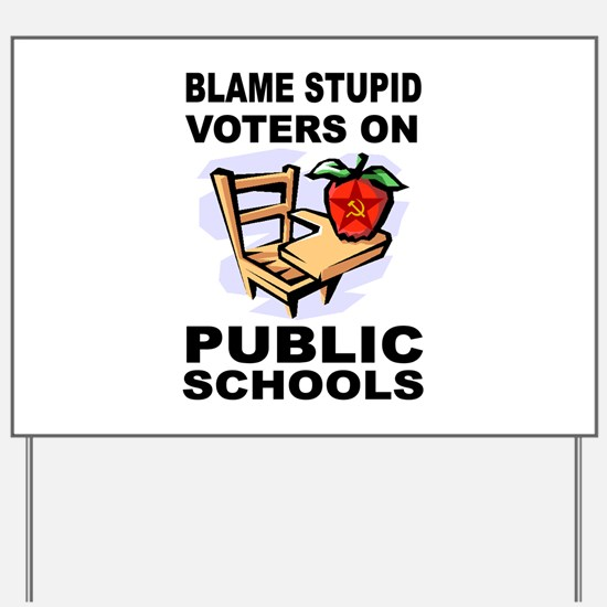 SOCIALIST TEACHERS Yard Sign