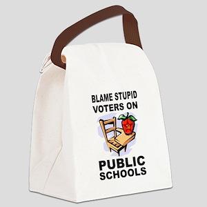 SOCIALIST TEACHERS Canvas Lunch Bag