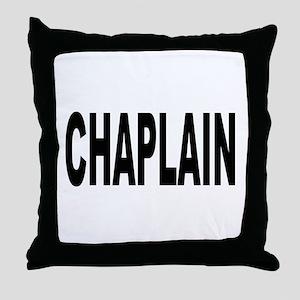 Chaplain Throw Pillow