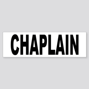 Chaplain Bumper Sticker
