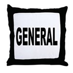 General Throw Pillow