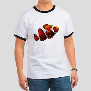 Orange Clownfish Tropical Clown Fish T-Shirt