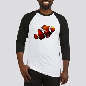 Orange Clownfish Tropical Clown Fish Baseball Jers