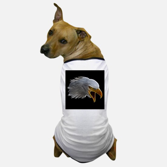 American Bald Eagle Head Dog T-Shirt