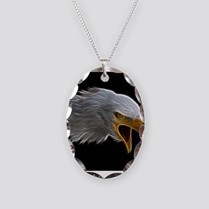 American Bald Eagle Head Necklace