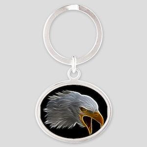 American Bald Eagle Head Keychains