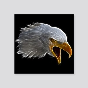 American Bald Eagle Head Sticker