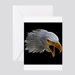 American Bald Eagle Head Greeting Cards