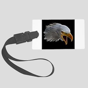 American Bald Eagle Head Luggage Tag