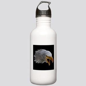 American Bald Eagle Head Water Bottle