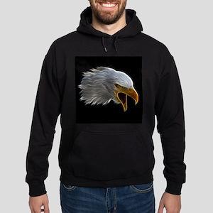 American Bald Eagle Head Hoodie