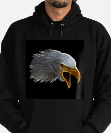 American Bald Eagle Head Hoody
