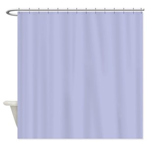 Periwinkle Blue Shower Curtains