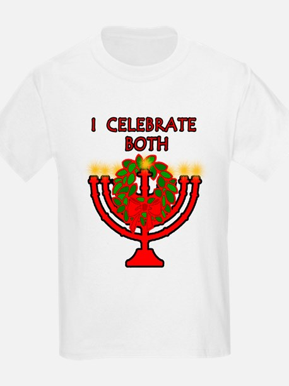 Christmas AND Hanukkah Kids T-Shirt