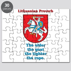 The Older The Goat - Lithuanian Proverb Puzzle